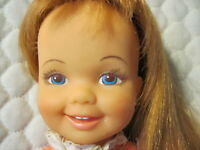 Vintage Ideal Doll Redhead Cinnamon  Hair Grows Crissy Family Original outfit