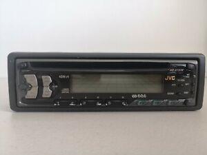 JVC KD-S737R - CD RDS 40W x4 - Single Din CD Radio In Car Head Unit - Used