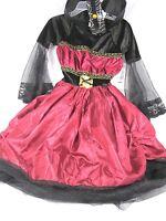 Costume Girl's Dracula Princess Vampire Halloween Sz 3 to 6