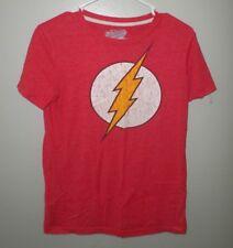 FLASH youth XL super hero T shirt DC Comics comic-book logo kids tee Old Navy