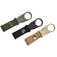 Nylon Water Bottle Holder Belts Carrier Pouch Hiking Camping Belt Buckle 3 Color