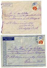NEDERLAND  S.M.N. 1937  2 x CV  =MARNIX VAN ST.ALDEGONDE= AAN BEMANNING  FINE