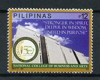 Philippines 2017 MNH National College of Business & Arts 1v Set Education Stamps