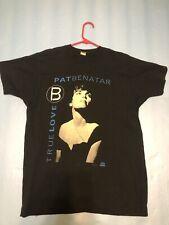 New listing Vintage Original Pat Benatar T-shirt True Love Tour 1991 Single Stitch Usa Made