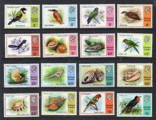 BRITISH SOLOMAN ISLANDS STAMP 1976 DEFINITIVES BIRDS & SHELLS MINT NEVER HINGED