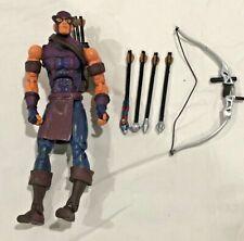 2004 Toybiz: Marvel Legends Series 7 - Classic Hawkeye w/ Sky Cycle, Bow, Arrows