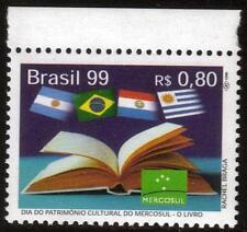 Il Brasile MNH Mercosur 1999-IL LIBRO