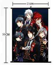 HOT Anime Black Butler Wall Poster Scroll Home Decor Cosplay 878
