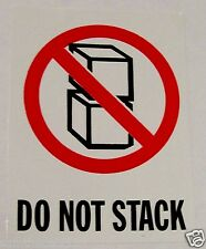 500 3x4 Do Not Stack International Shipping Label