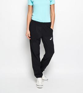 Asics Women's Tennis Pants Club Sports Style Trousers - Black  - New
