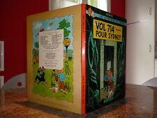 EO B37 1968 Tintin VOL 714 POUR SYDNEY 2nd tirage BE Hergé