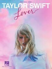 Taylor Swift Lover Song Book for Piano/Vocal/Guitar