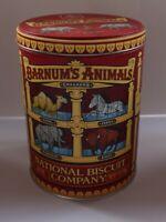 Barnum's Animal Crackers Tin 2002 7oz Vintage Nabisco