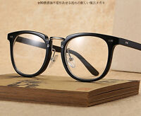 TR90 Vintage Retro Eyeglass Frame Full-Rim Man Women Glasses Eyewear Rx-able
