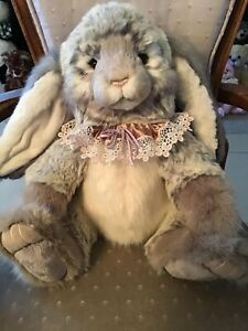 """WENDY CHARLIE BEARS 2020 PLUSH BUNNY * 18"""" NEW WITH TAGS"""