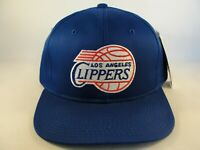 Los Angeles Clippers NBA Vintage Snapback Hat Cap Blue