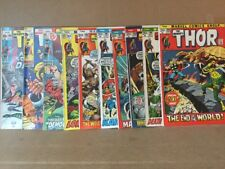Thor Lot Of 10 #190-200