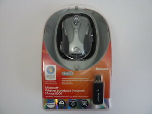 NEW - Microsoft Wireless Notebook Presenter Laser Mouse 8000 Bluetooth USB