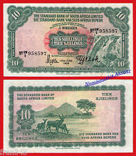 SOUTH WEST AFRICA 10 shillings 1959  Pick 10  MBC  / VF
