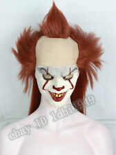 Wig for Pennywise Long Halloween Cosplay Costume Wig IT Clown Adult Wig