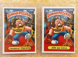 Garbage Pizza Kids (set of 2 cards) LIMITED EDITION CARDS (1980 a/b) RARE!! GPK