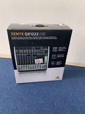 Behringer XENYX QX1222USB Mischpult Mixer