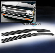 1994-1997 CHEVY S10 PICKUP/1995-1997 BLAZER MAIN UPPER BILLET GRILLE GRILL 2PCS