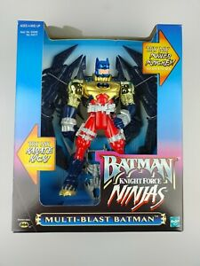 Batman Knight Force Ninjas Multi-Blast Vintage Hasbro 1998 90's NEW & Sealed FUN