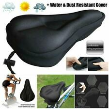 Bike Cycle Bicycle Extra Comfort Gel Pad Cushion Cover For Saddle Seat Comfy .