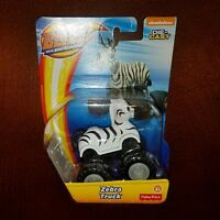 Blaze and the Monster Machines Zebra Truck Die-Cast Vehicle New