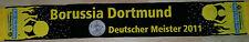 limitiert Sammlerstück BvB schal Borussia Dortmund Deutscher Meister 2011 scarf