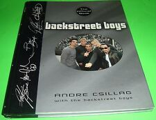 Backstreet Boys The Official Book by Andrea Csillag July 2000 Hardcover