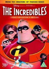 THE INCREDIBLES 2 DISC COLLECTORS EDITION WALT DISNEY PIXR UK REGION 2 DVD L NEW
