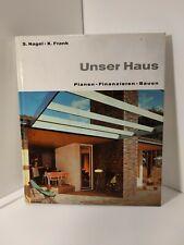 UNSER HAUS-Planen, finanzieren, bauen Buch Wohnen Mid Century 50er 60er Jahre