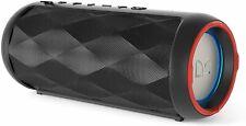 Monster Rove 2 Portable Bluetooth Speaker - Water-Resistant, Led Lights - Black