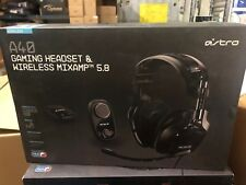 Astro Gaming - A40 Wired Surround Sound Gaming Headset + Wireless MIXAMP 5.8 MLB