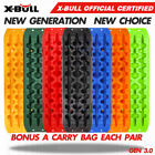 X-BULL Recovery Tracks Board Sand Mud Snow 1 Pair Mounting bolt 4WD 4X4 Gen 3.0 <br/> BONUS A CARRY BAG EACH PAIR- 7 COLOR