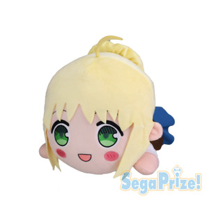 Today's Menu for the Emiya Family Nesoberi Jumbo Servant Plush Doll Saber SG9887