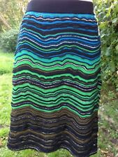 MISSONI: Pretty knitted skirt, Size 46 (IT); UK Size 14; in excellent condition