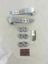 New Pair Billet Door Handles Hot Rod Rat Rod Custom Muscle Car Ford Chevy Mopar