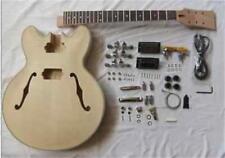 Electric guitar semi-finished unassembled kits,ES-335 Electric guitar #8