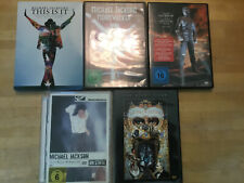 Michael Jackson [5 DVD] Moonwalker + Greatest Hits + On Stage + This is it + ...