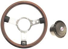 Mountney wood rim steering wheel and boss vw T1 beetle