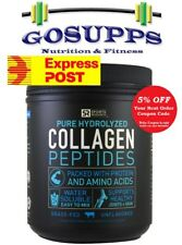 SPORTS RESEARCH Collagen Peptides Unflavoured 454g Pure Hydrolyzed Grass Fed