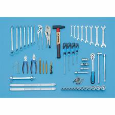 Gedore 6607010 S 1151 Tool assortment 68 pcs MM