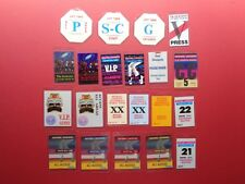 MICHAEL JACKSON Backstage pass collection,65 different,RARE old Originals