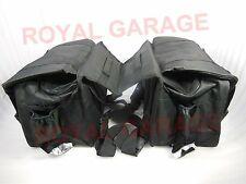 CUSTOMIZED SIDE HANGING SADDLE BAG FOR TOURING ROYAL BIKES  BSA NORTON
