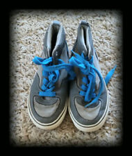 OLD NAVY Boys size 11 Grey and Blue Shoes VGUC