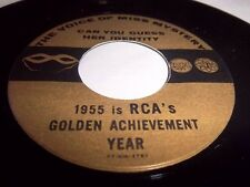 VOICE OF MISS MYSTERY CAN YOU GUESS HER IDENTITY 1955 RCA' GOLDEN ACHIEVEMENT 45