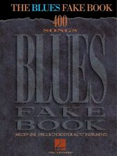The Blues Fake Book Sheet Music Real Book Fake Book NEW 000240082